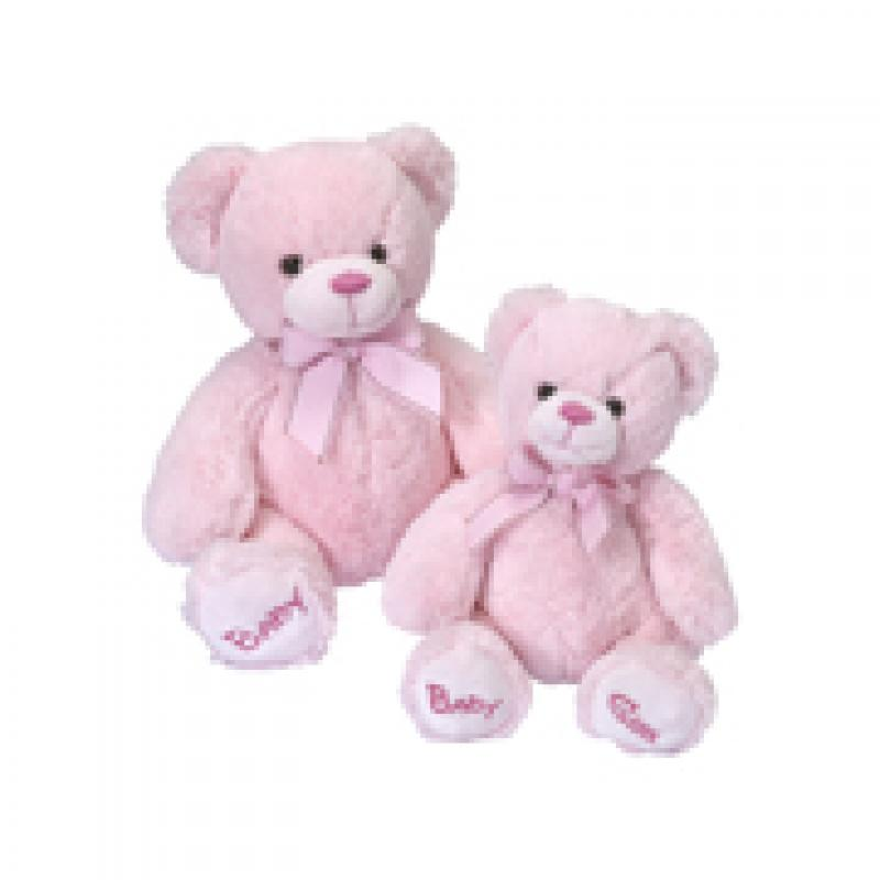 MEDIUM PINK BABY TEDDY. Click to enlarge