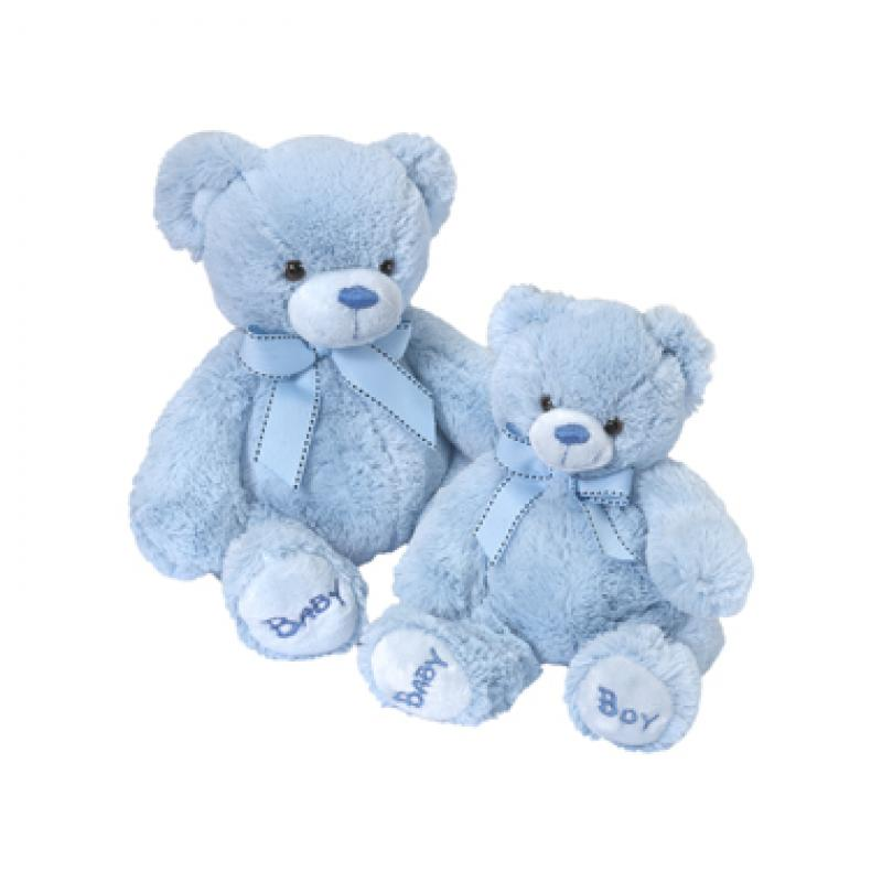 MEDIUM BLUE BABY TEDDY. Click to enlarge